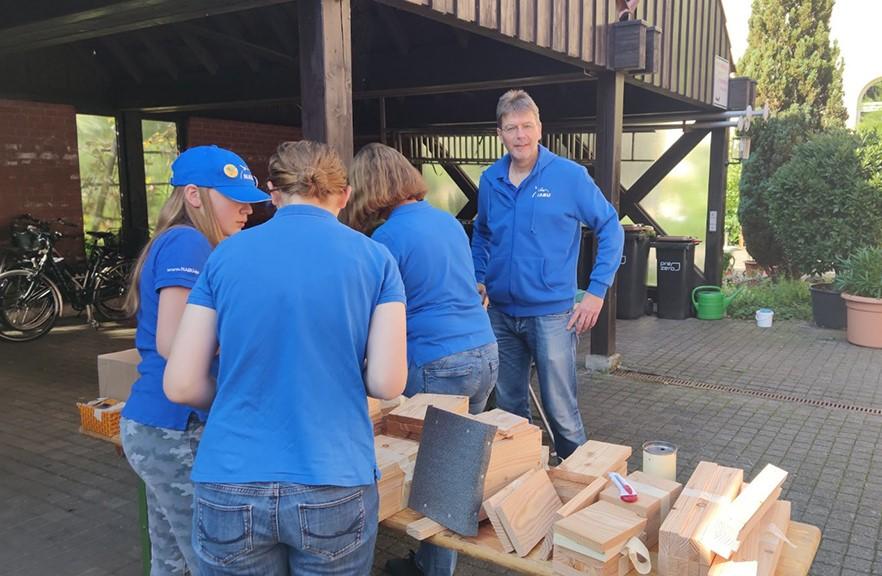 Workshop Nistkästen bauen